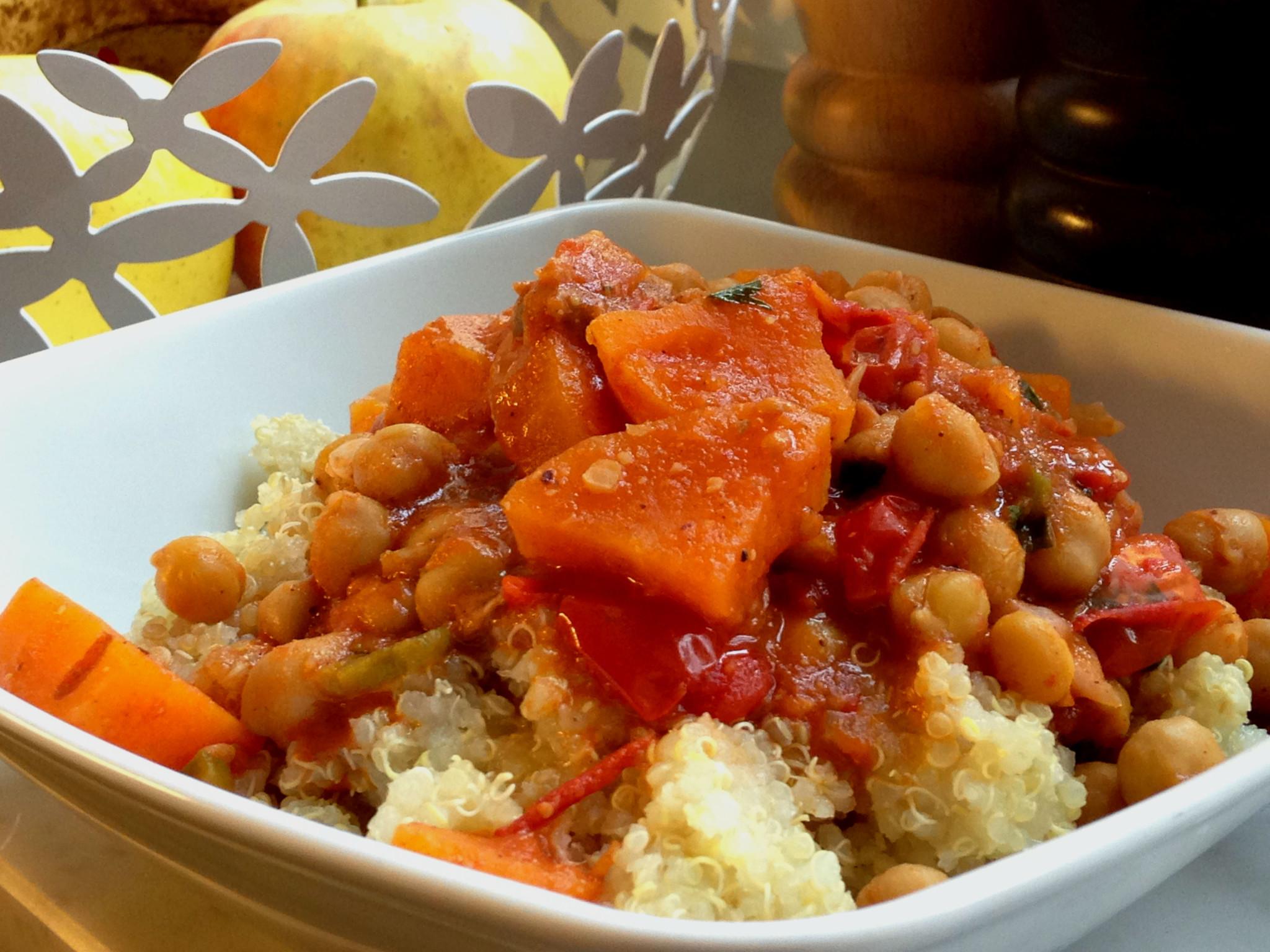 Süßkartoffeleintopf. Mood food für Mama. schnell, gesund, vegan, glutenfrei.