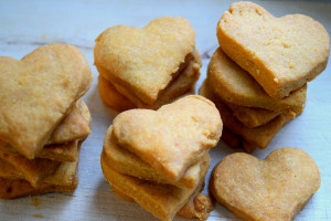 Parmesan-Herzen! Rezept gegen Samstags-Blues